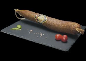 Tisza-tavi csípős vastagkolbász (culáréban)